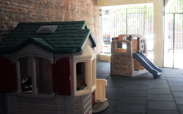 Cornerstone Children's Center - indoor/outdoor playground